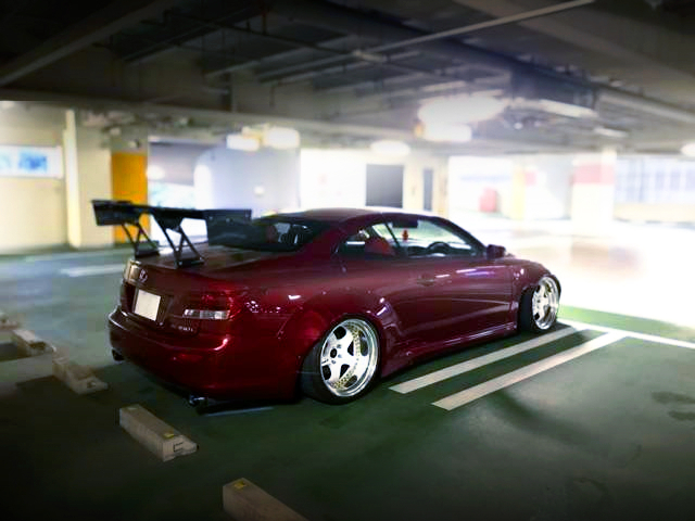 REAR LEXON and ROCKET BUNNY WIDEBODY to GSE21 LEXUS IS 350C CONVERTIBLE