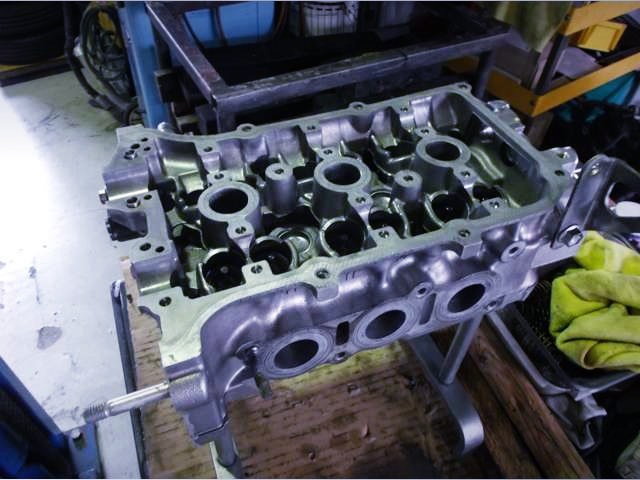 KF 660cc ENGINE BLOCK.