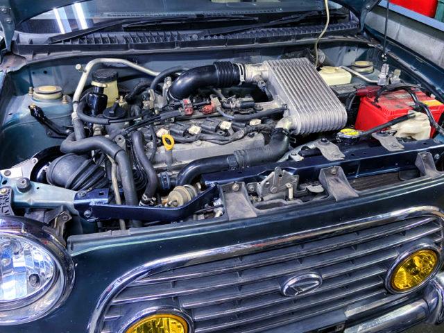 K3-VET 1.3-Liter TURBO ENGINE OF 140PS.