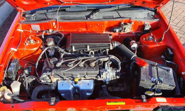 GA16DE 1.6L DOHC ENGINE.