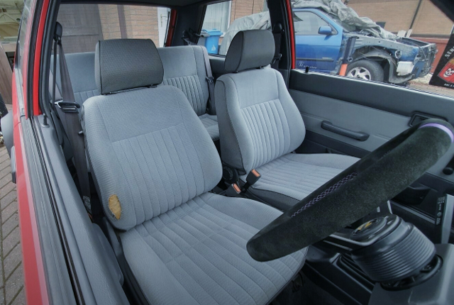 INTERIOR SEATS OF N13 SUNNY HATCH TO JDM PULSAR.