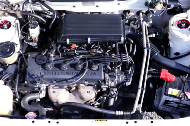 GA15DE ENGINE.