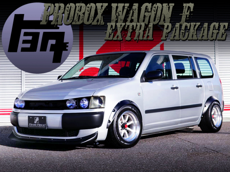 OLD LOOK OF PROBOX WAGON F EXTRA PKG.