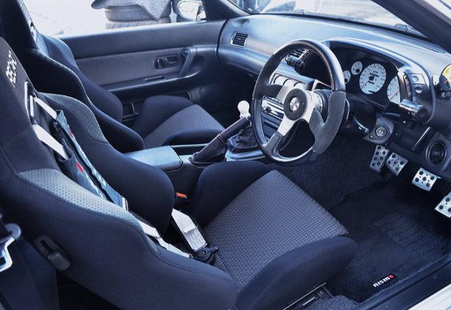 R32 GT-R INTERIOR.