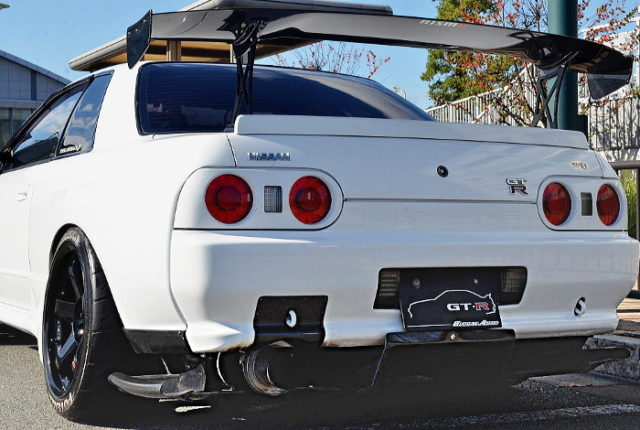 TAIL LIGHT AND GT-WING.