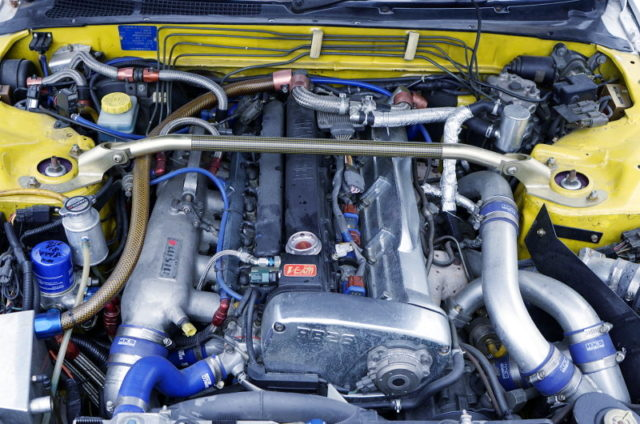 RB26 with 2.7L and NISMO RR518 Le Mans TWINTURBO.