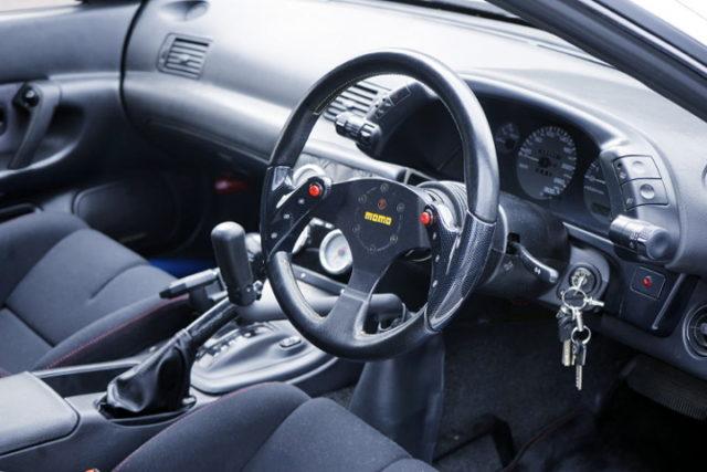 AUTOMATIC SHIFT CONVERSION TO R32 GT-R INTERIOR.