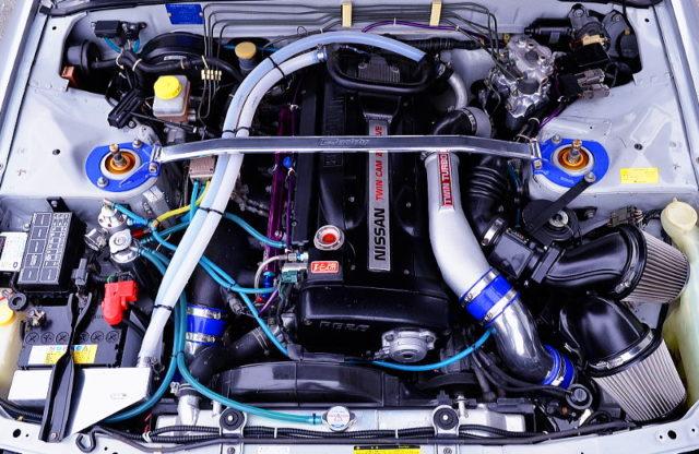 RB26 2.7L T517Z TWINTURBO ENGINE.