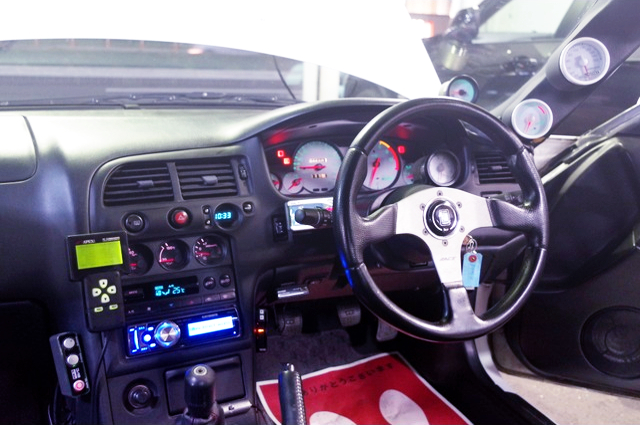 DRIVER'S CUSTOM DASHBOARD.
