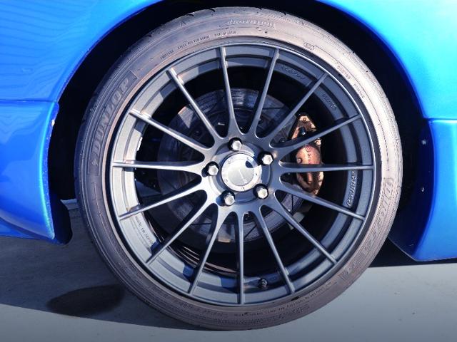 REAR R34 GT-R Brembo CALIPER CONCERSION.