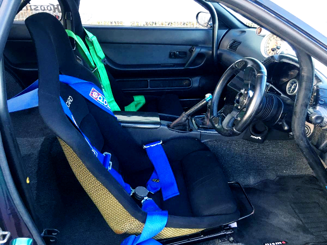 DRIVER'S SEAT And STEERING.