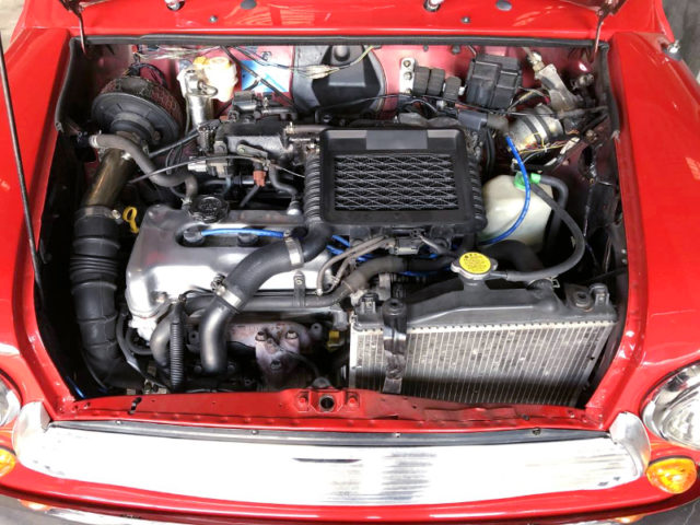 K6A TWINCAM TURBO ENGINE.