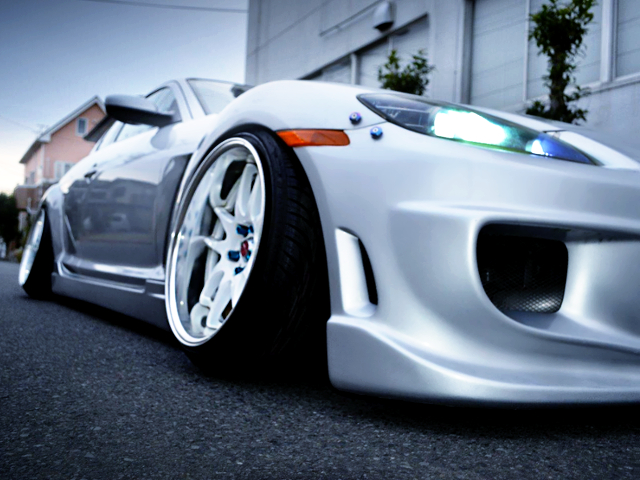 FRONT CAMBER OF SE3P RX8.