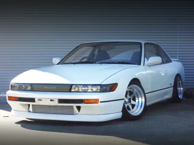 FRONT EXTERIOR OF S13 SILVIA Qs TO TURBO.