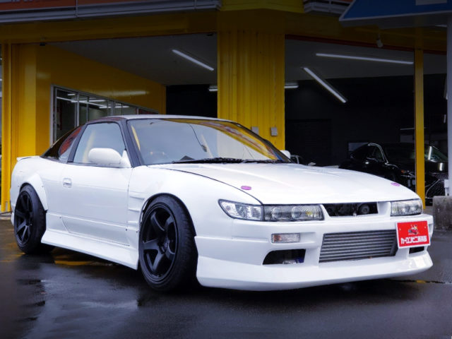 S13 SILVIA FRONT END TO SILEIGHTY CONVERSION.
