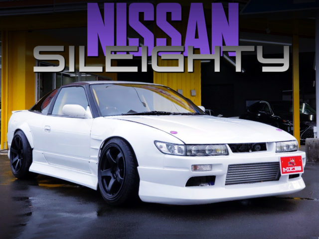 S13 SILVIA FACE And WIDEBODY TO 180SX.