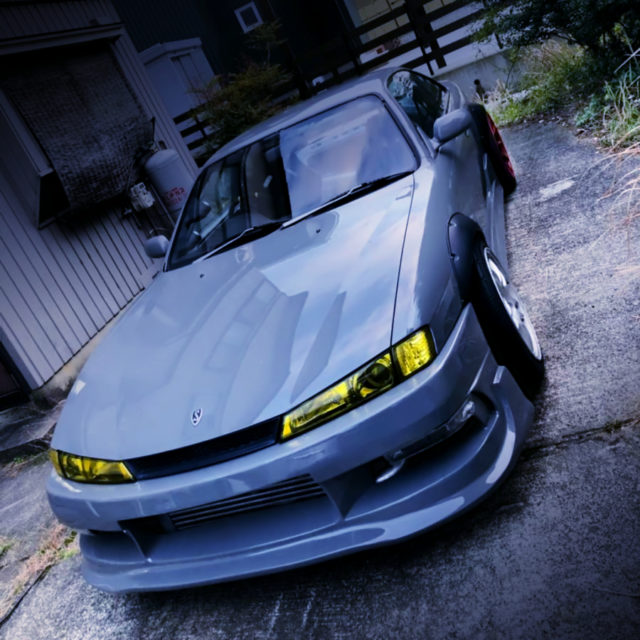 FRONT EXTERIOR OF S14 SILVIA.