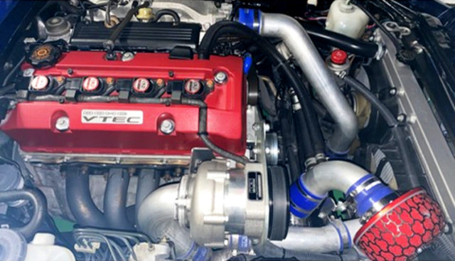 HKS SUPERCHARGED F20C