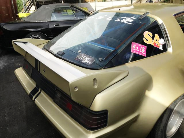 REAR TAIL LIGHT OF SA22C RX-7 WORKS WIDEBODY.
