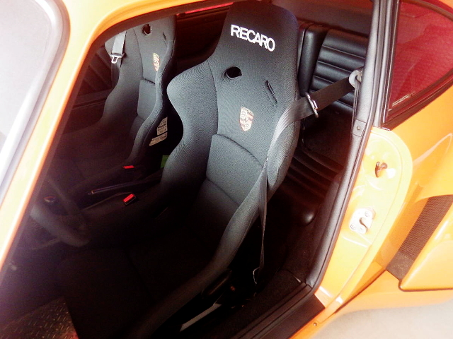 RECARO FULL BUCKET SEATS.