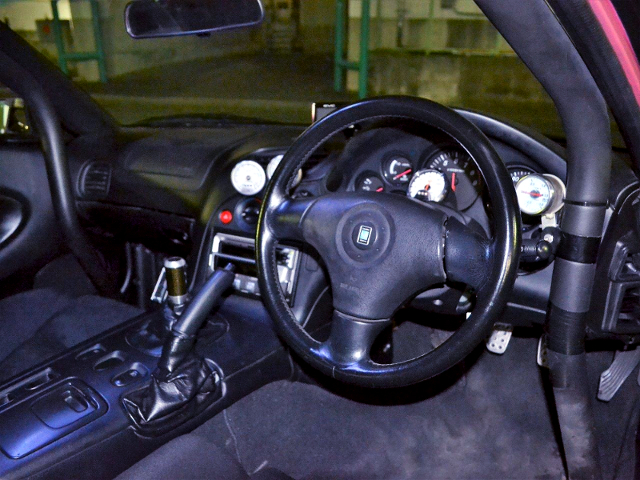 FD3S RX-7 TYPE-RS INTERIOR.