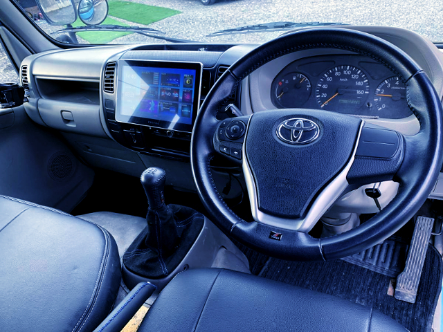 INTERIOR OF TRY220 ToyoAce DOUBLE CAB.