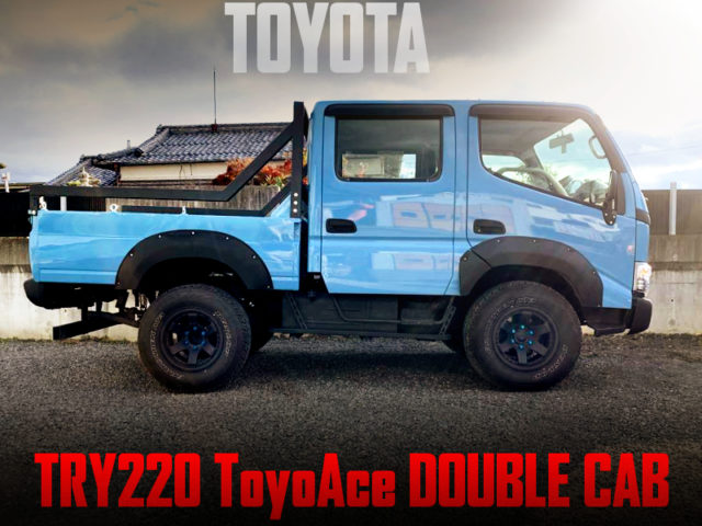 LIFTED And WIDEBODY TO TRY220 ToyoAce DOUBLE CAB.