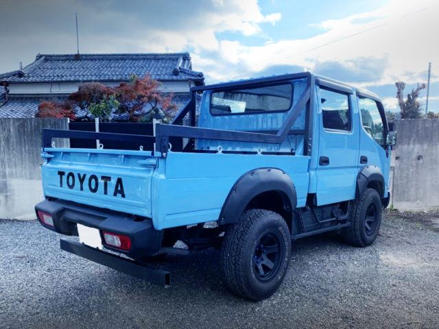 REAR EXTERIOR OF TRY220 ToyoAce DOUBLE CAB.