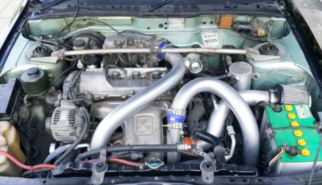 3S-GTE 2-LITER TURBO ENGINE.