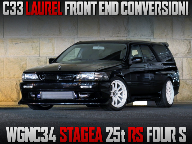 C33 LAUREL FRONT END CONVERSION TO WGNC34 STAGEA.