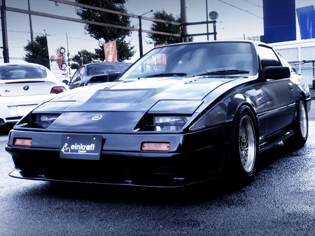 FRONT EXTERIOR OF Z31 FAIRLADY Z 200ZR-1.