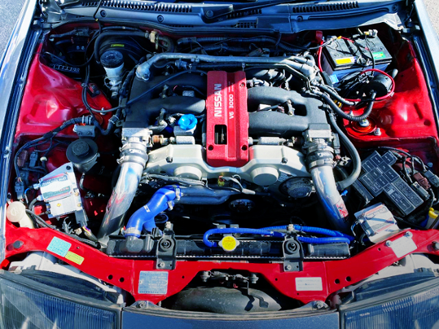 VG30DE 3-liter V6 NATURALLY ASPIRATED ENGINE.