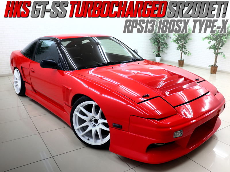 GT-SS TURBOCHARGED 180SX TYPE-X WIDEBODY.