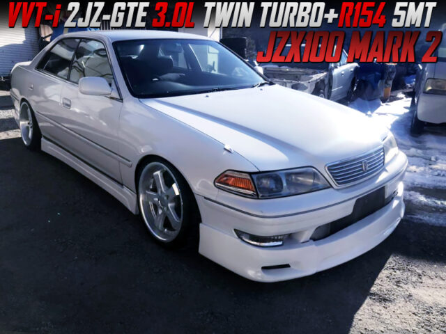 2JZ TWINTURBO and 5MT SWAPPED JZX100 MARK 2.