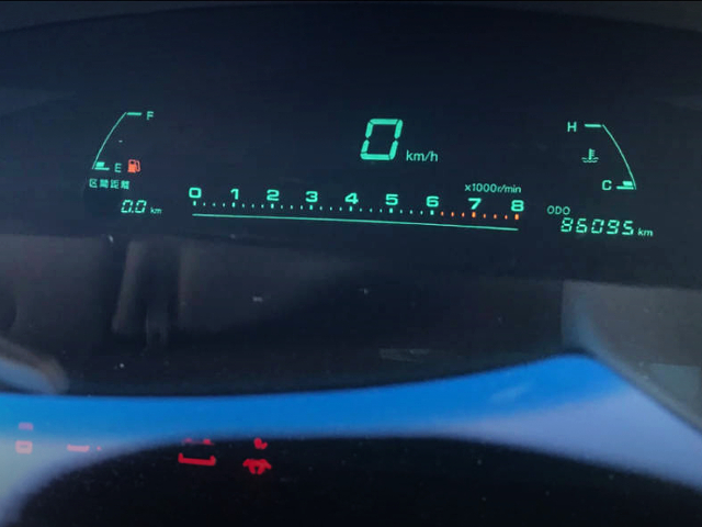 TOYOTA DIGITAL SPEED CLUSTER.