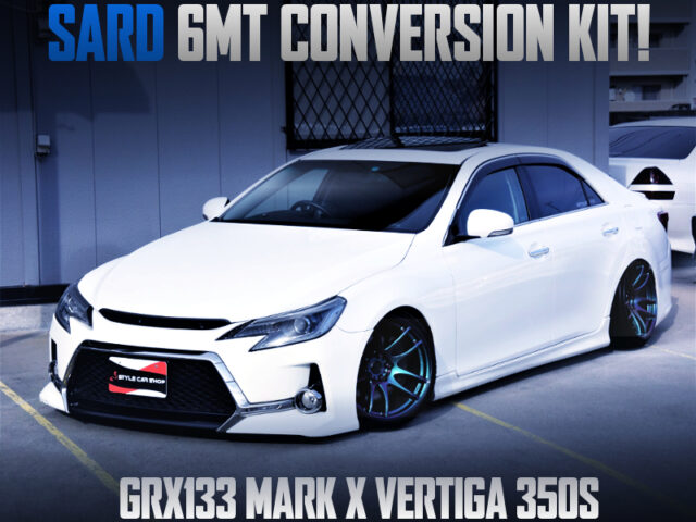 SARD 6MT CONVERSION KIT INSTALLED GRX133 MARK X VERTIGA 350S.