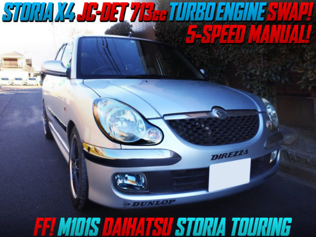 X4 JC-DET TURBO ENGINE SWAPPED M101S STORIA TOURING TO FF MODEL.