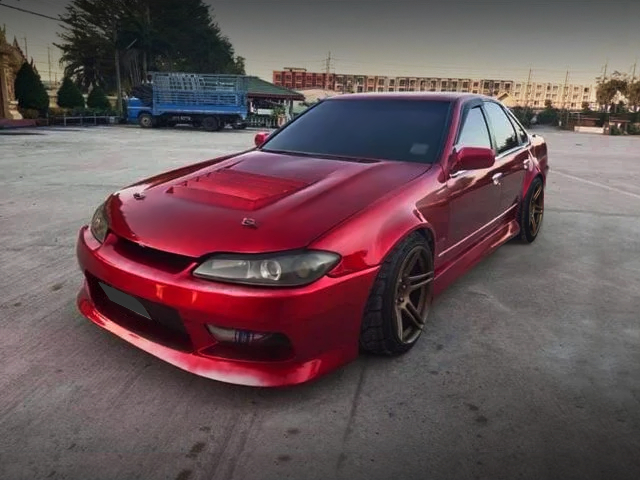 FRONT EXTERIOR OF A31 CEFIRO with S15 FRONT END CONVERSION.