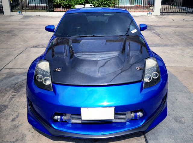 FRONT EXTERIOR OF A31 CEFIRO TO Z33 CONVERSION.