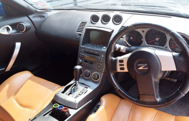 DASHBOARD OF A31 CEFIRO TO Z33 CONVERSION.