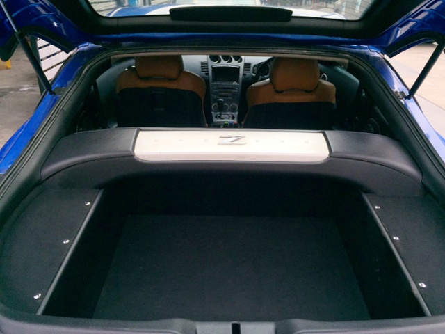 LUGGAGE SPACE OF A31 CEFIRO TO Z33 CONVERSION.