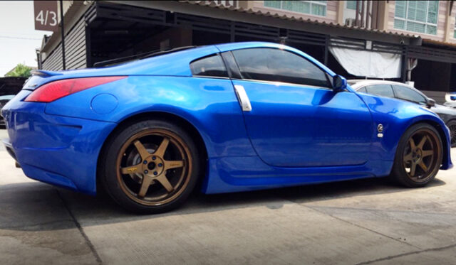 SIDE EXTERIOR OF A31 CEFIRO TO Z33 CONVERSION.