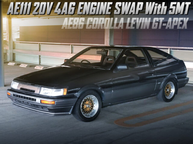20V 4AGE SWAp with 5MT into AE86 LEVIN GT-APEX.