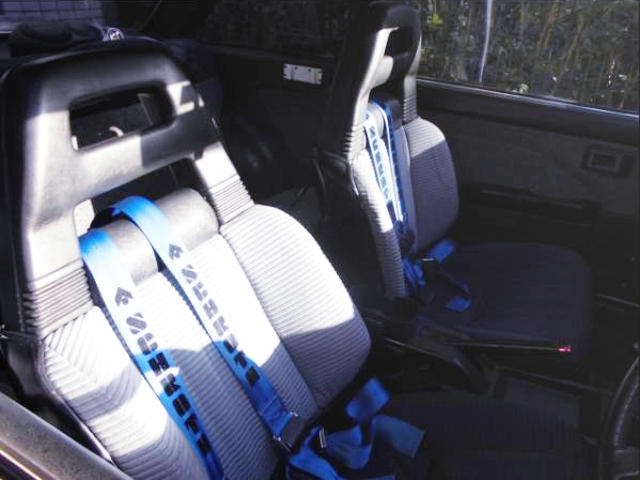 SEATS OF AE86 LEVIN GT.