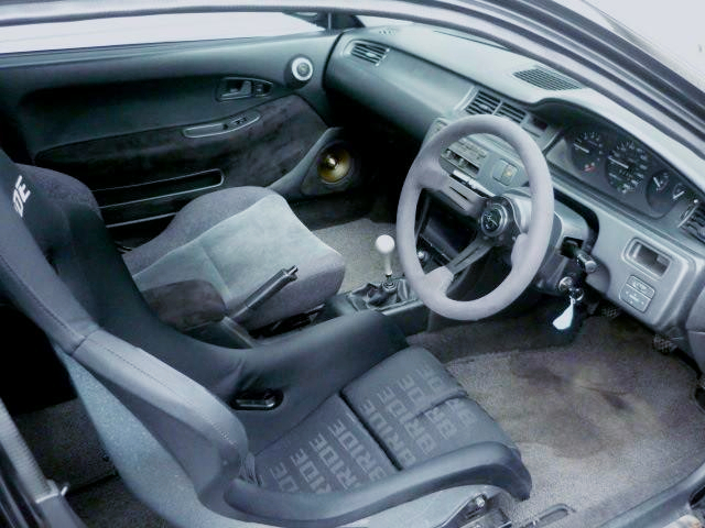 INTERIOR OF EJ1 CIVIC COUPE.