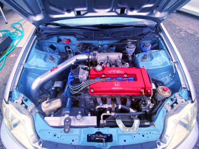 B18C 1800cc VTEC ENGINE.