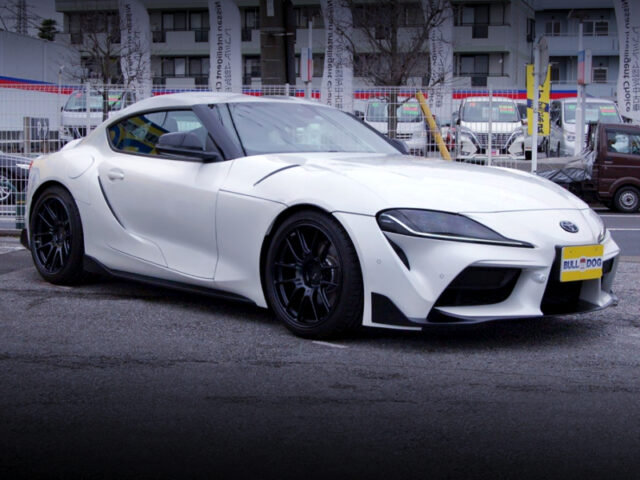 FRONT EXTERIOR OF DB22 GR SUPRA SZ-R TO BLITZ DEMO CAR.