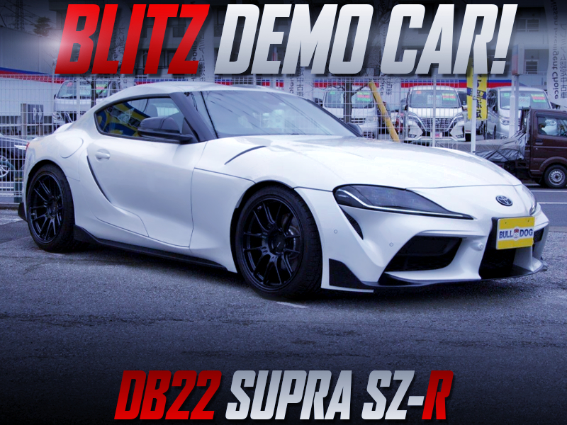 BLITZ DEMOCAR of DB22 GR SUPRA SZ-R.
