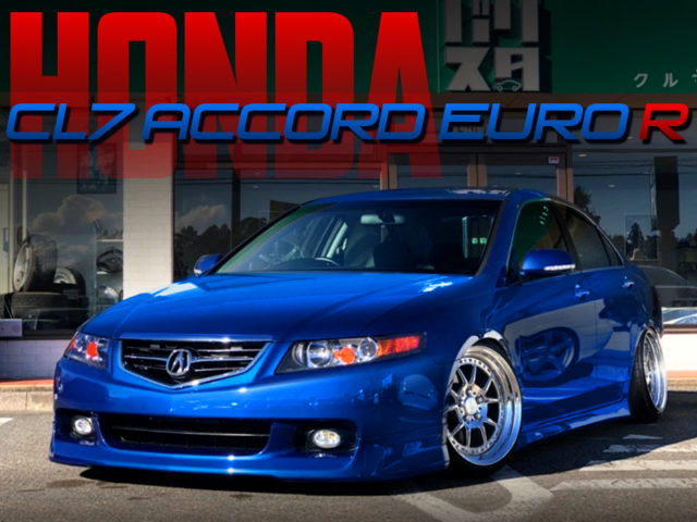 STANCED CL7 ACCORD EURO-R TO BLUE.