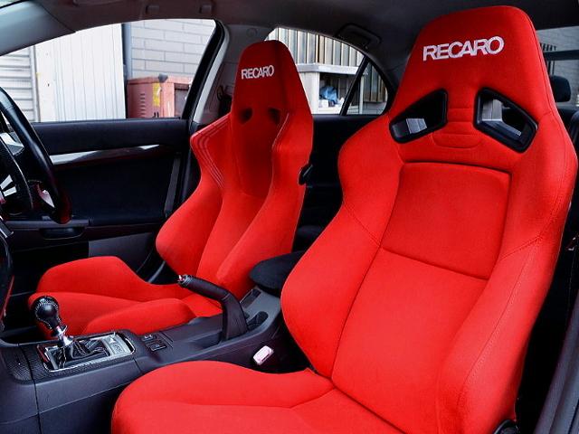 RECARO SEMI BUCKET SEATS.